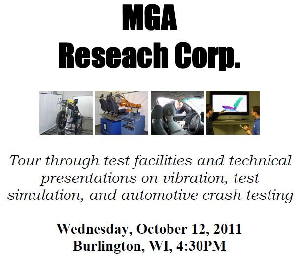 October 2011 Newsletter – MGA Research Corporation